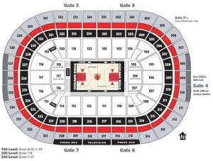 Chicago Bulls Seating