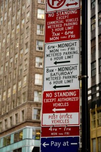 avoid New York parking tickets