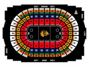 Chicago BlackHawks Seating