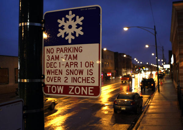Overnight Parking Prohibition: Chicago's winter parking ban is back!
