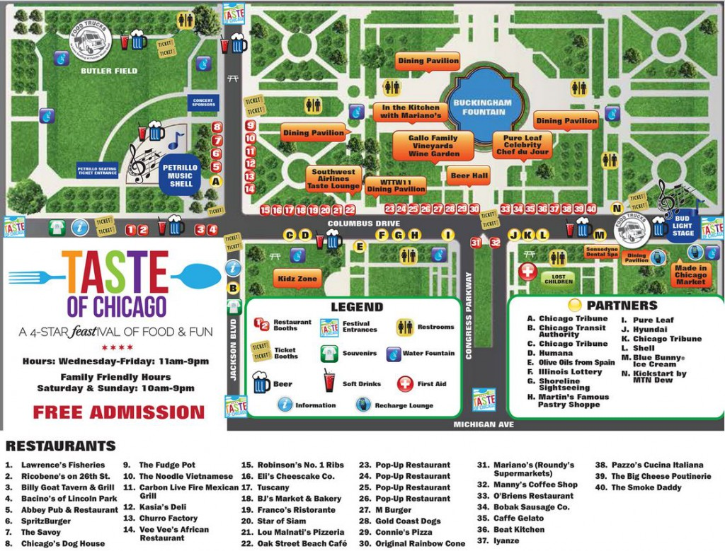 taste_festival_chicago_parking