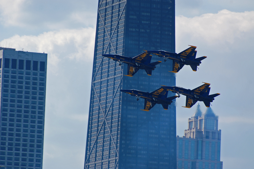 Chicago Air and Water Show Parking
