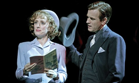 Ewan McGregor in Guys and Dolls in London