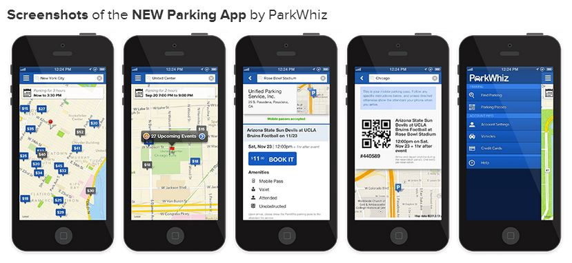 ParkWhiz mobile parking passes now available offline with